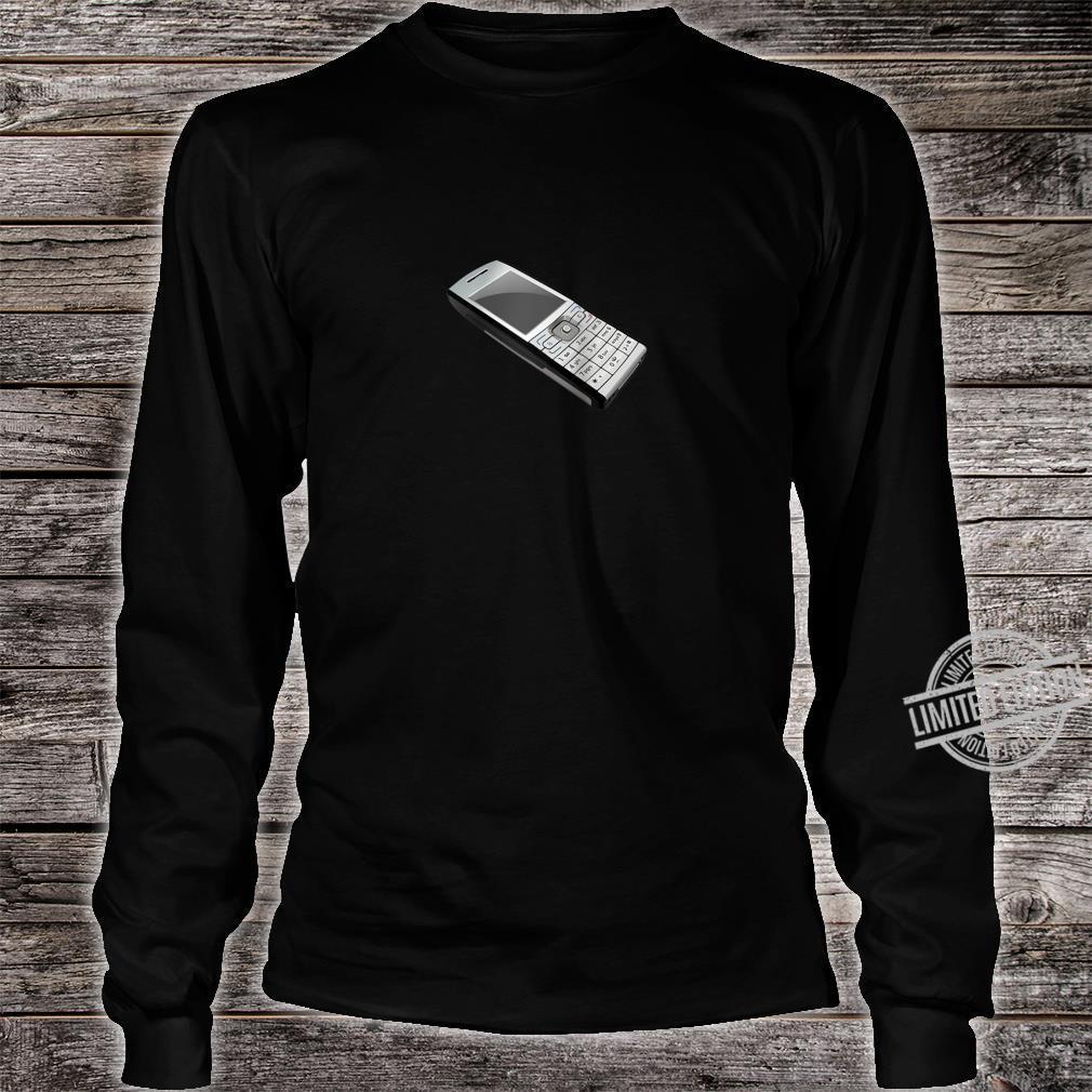 Vaporwave Retro Vintage Cell Phone Shirt long sleeved