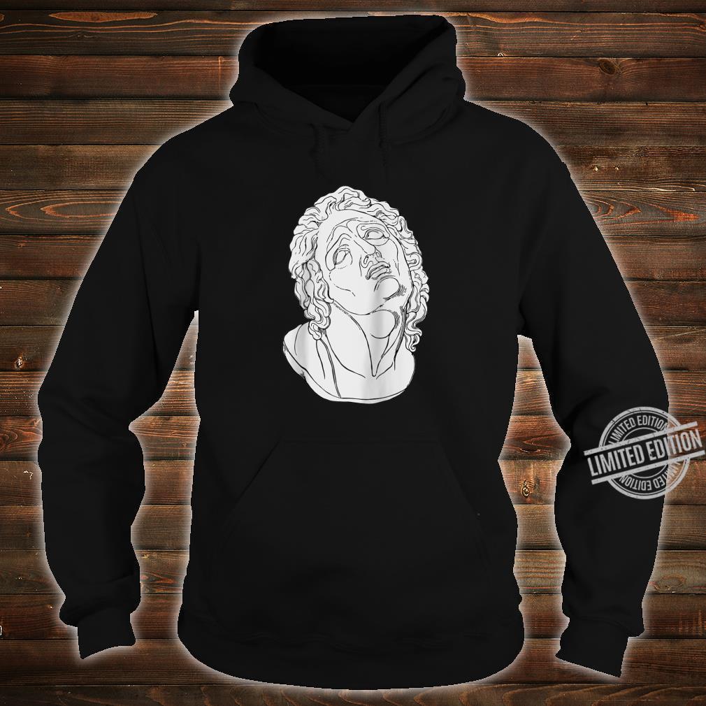 Vaporwave Roman Bust Vapor Wave Aesthetic Shirt hoodie