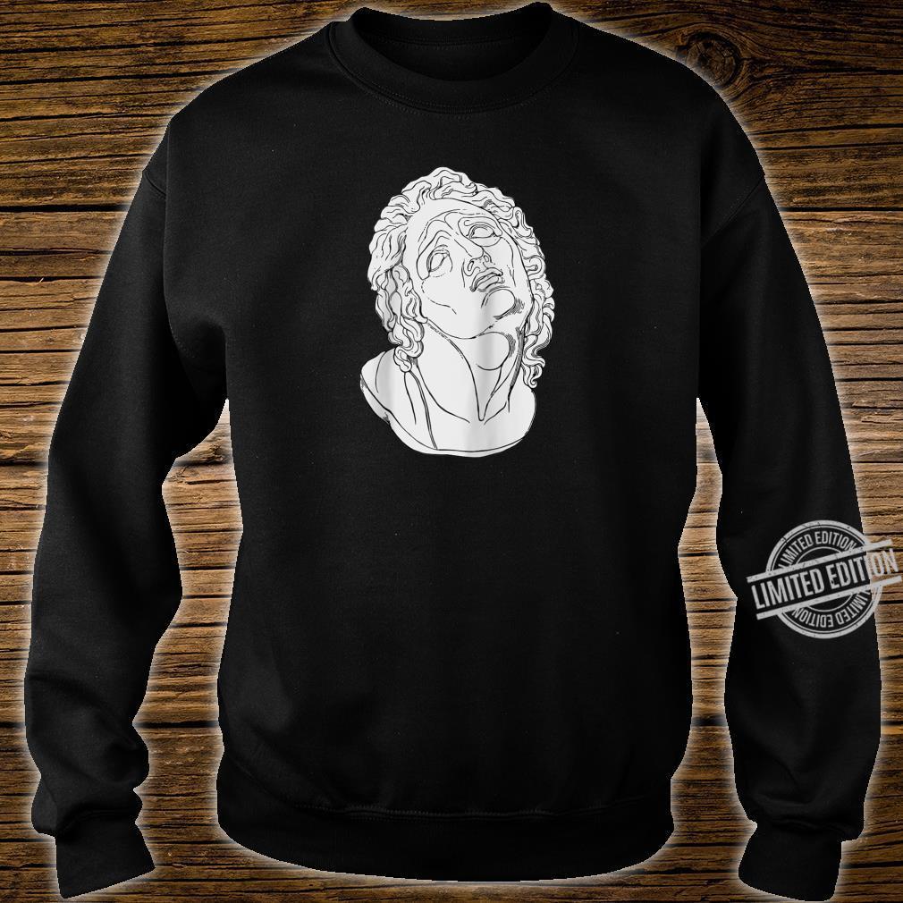 Vaporwave Roman Bust Vapor Wave Aesthetic Shirt sweater
