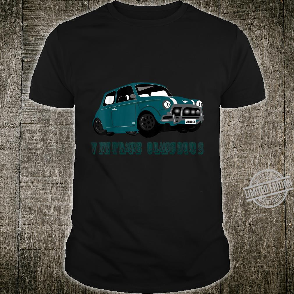 Vintage Classics Designed Mini Shirt