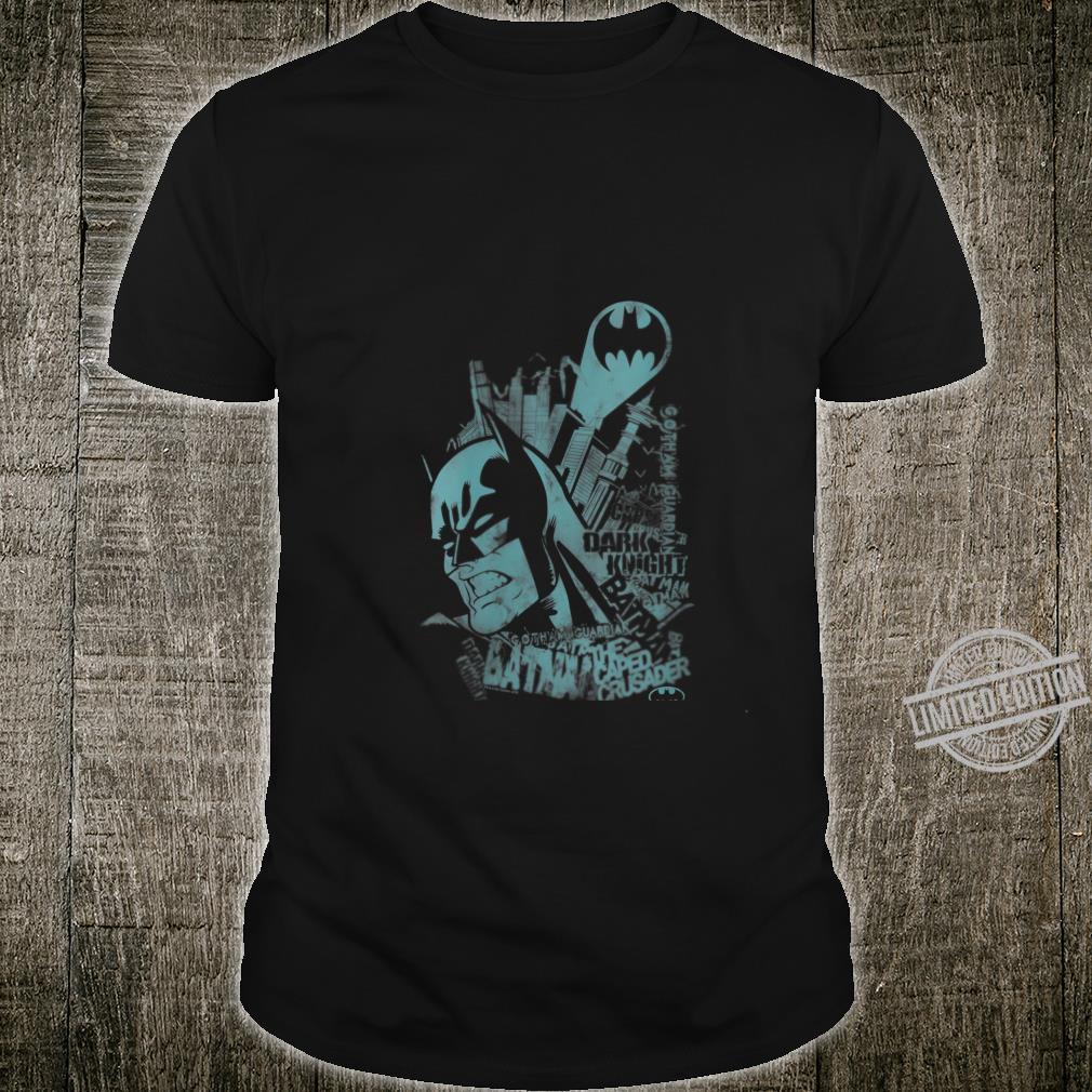 Womens Batman Grittedth Shirt