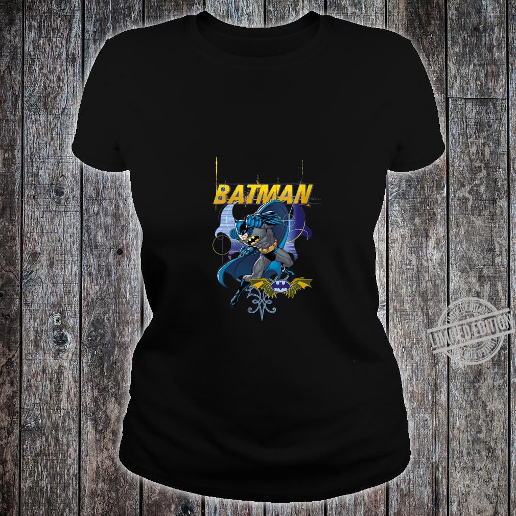 Womens Batman Urban Gothic Shirt ladies tee