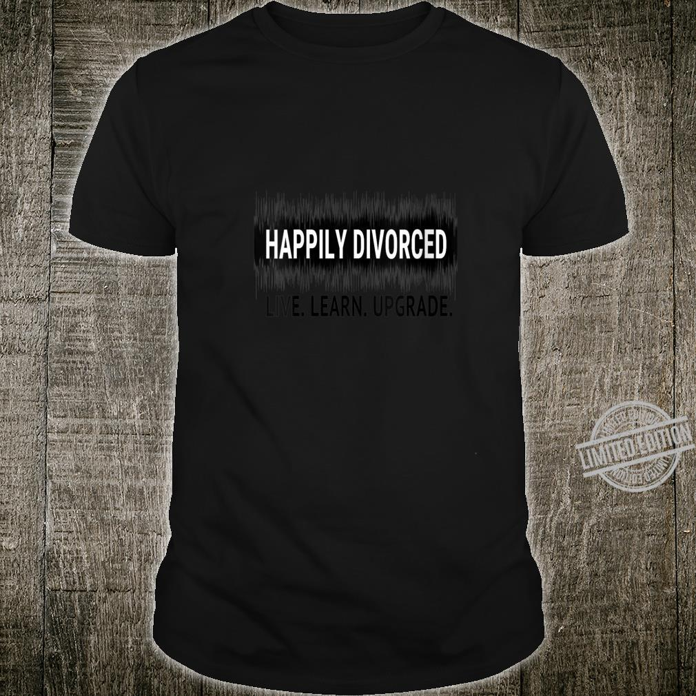 Womens Happily Divorced Divorce AF Divorcee Party Shirt