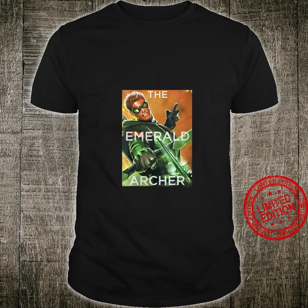 Womens Justice League Green Arrow Trigger Shirt