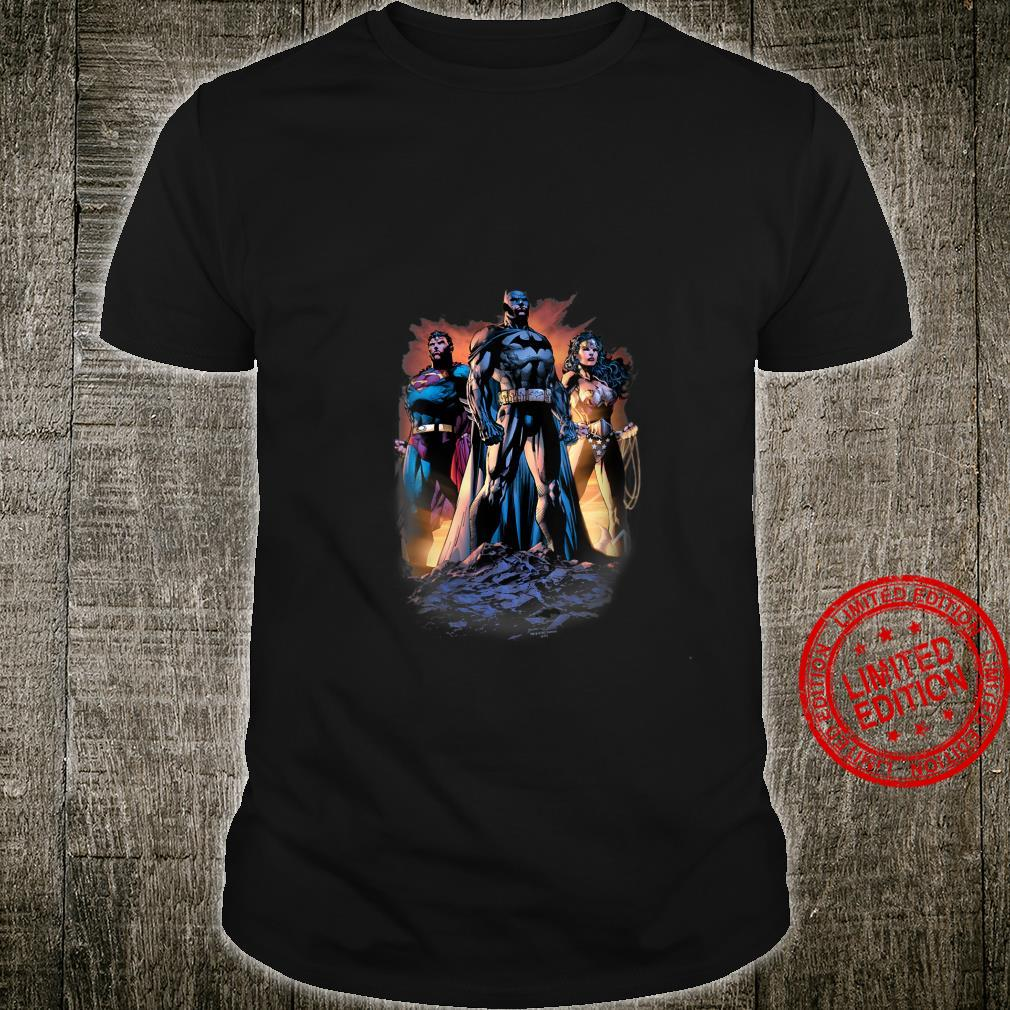 Womens Justice League Take a Stand Shirt