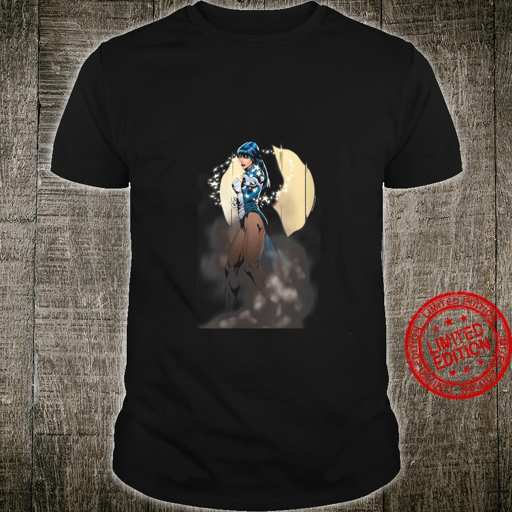 Womens Justice League Zatanna Illusion Shirt